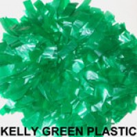 Kelly Green Plastic Pom Pom