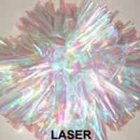 Laser Holographic Pom Pom