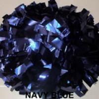 Navy Metallic Pom Pom