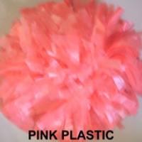 Pink Plastic Pom Pom