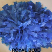 Royal Blue Plastic Pom  Pom