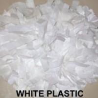 White Plastic Pom  Pom