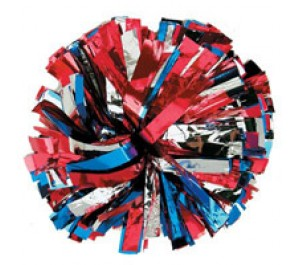 1, 2 & 3 Colour Plastic Poms
