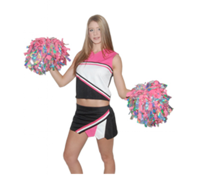 Polyester Custom made uniform and pom poms