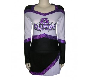 Form Flex with Sequin lettering & 100% Polyester Skirt
