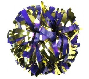 2 Colour Mix Pom Poms
